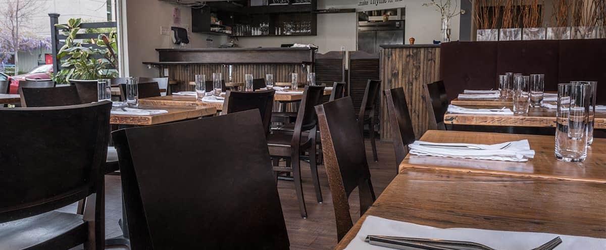 Modern, Contemporary, Casual Restaurant Space in Downtown Palo Alto in Palo Alto Hero Image in University South, Palo Alto, CA