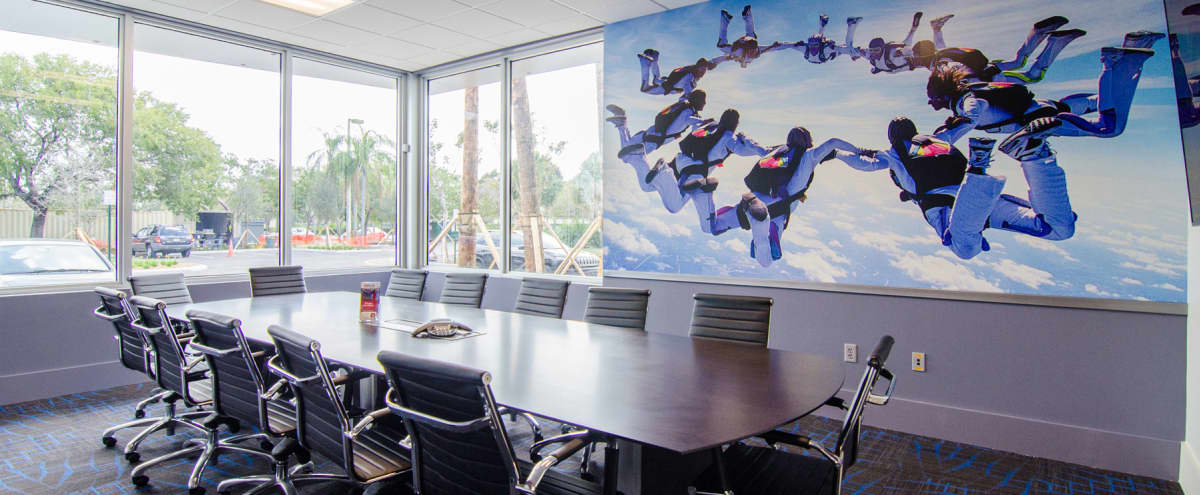 Sleek, Modern Conference Room Steps from a 60ft Wind Tunnel in Davie Hero Image in undefined, Davie, FL