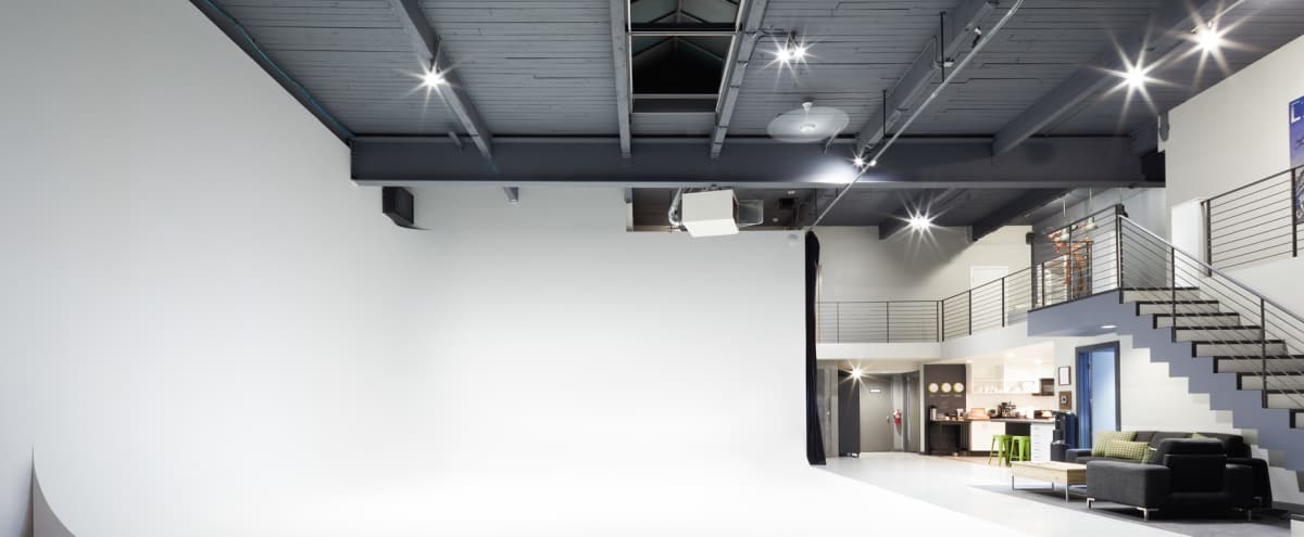 Full Service Photo, Video and Live Broadcast Production Studio in Seattle Hero Image in Queen Anne, Seattle, WA