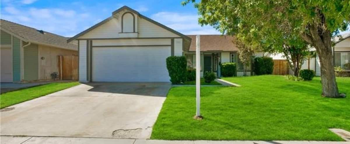 Charming, Open Plan Single-Family Home in Lancaster Hero Image in undefined, Lancaster, CA