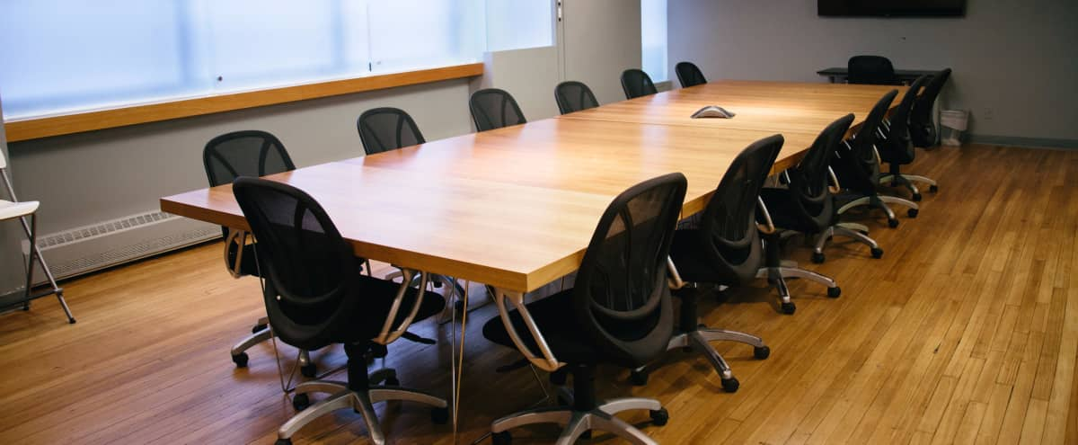 Spacious Flatiron Conference Room in New York Hero Image in Midtown, New York, NY
