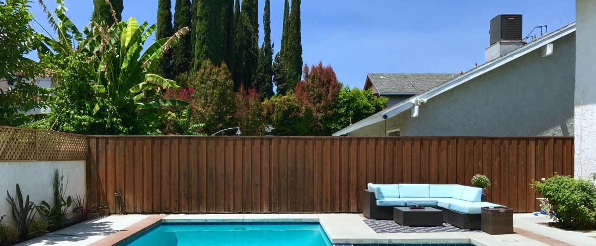 Suburban Home with Pool on a Quiet Cul-de-Sac in Winnetka Hero Image in Winnetka, Winnetka, CA