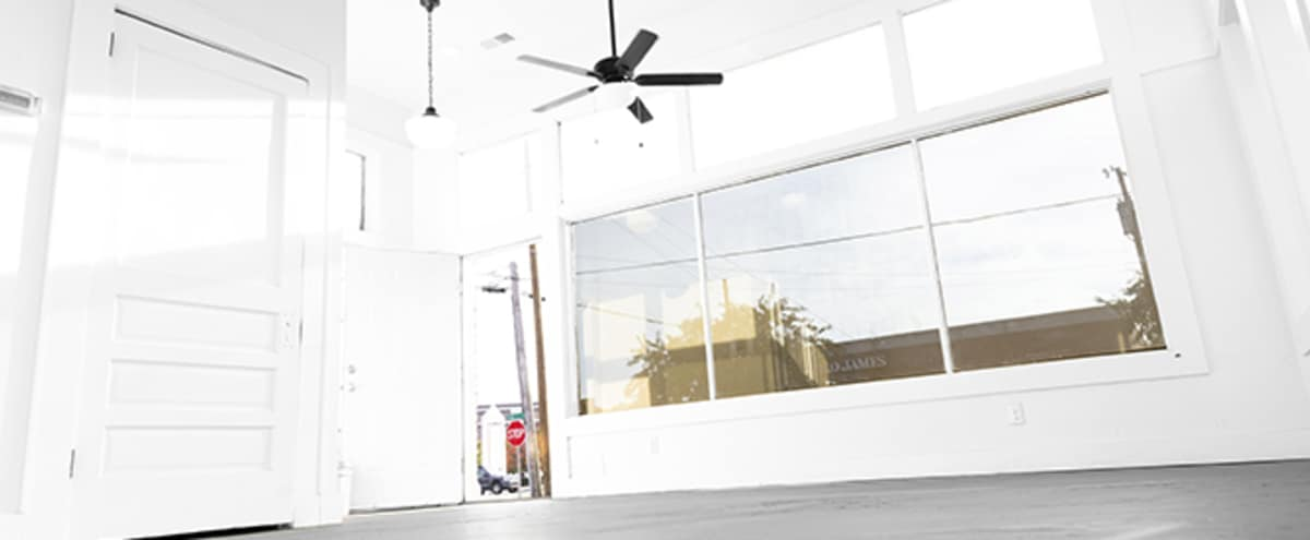White & Windows 400sqft of studio space (studio A) in Decatur Hero Image in undefined, Decatur, AL