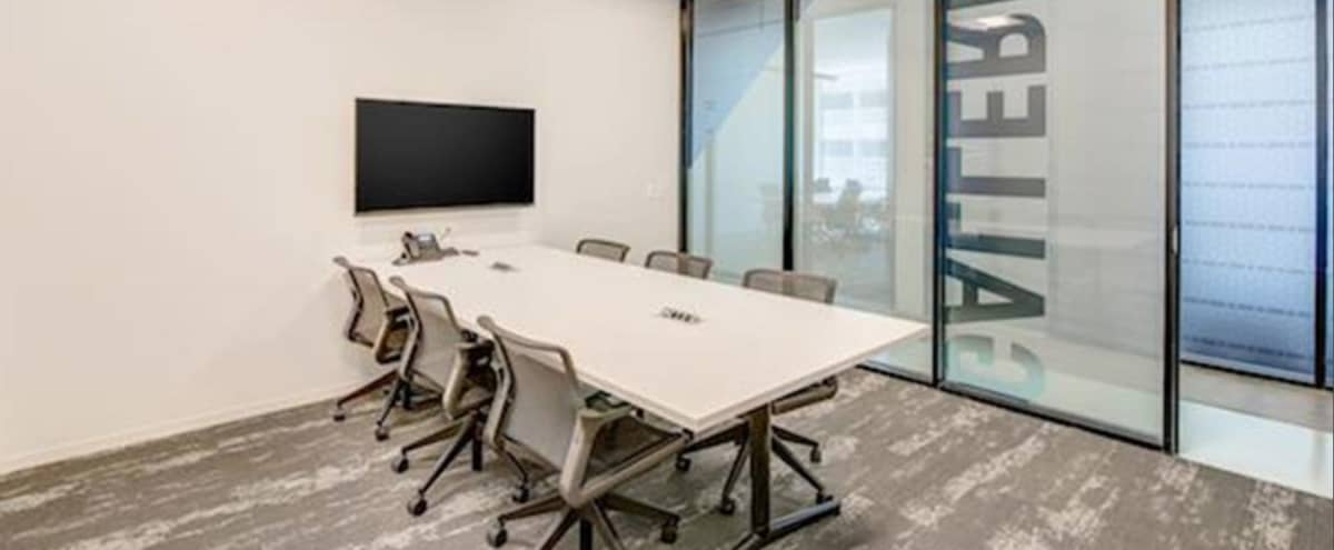Modern Meeting room for 6 in Houston Hero Image in Briarforest, Houston, TX