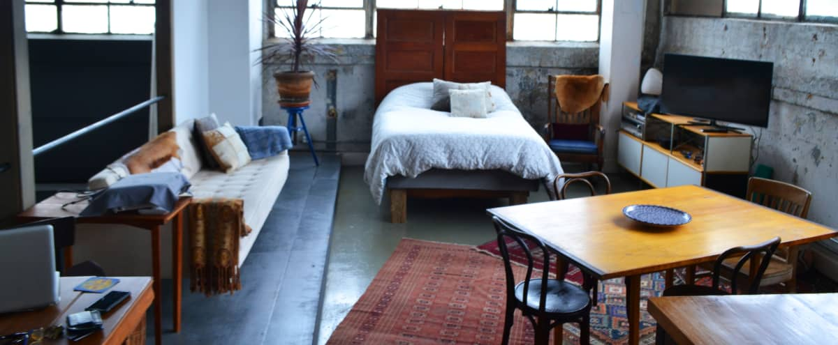 Artist Live/Work Loft with Roof Access in BROOKLYN Hero Image in Downtown Brooklyn, BROOKLYN, NY