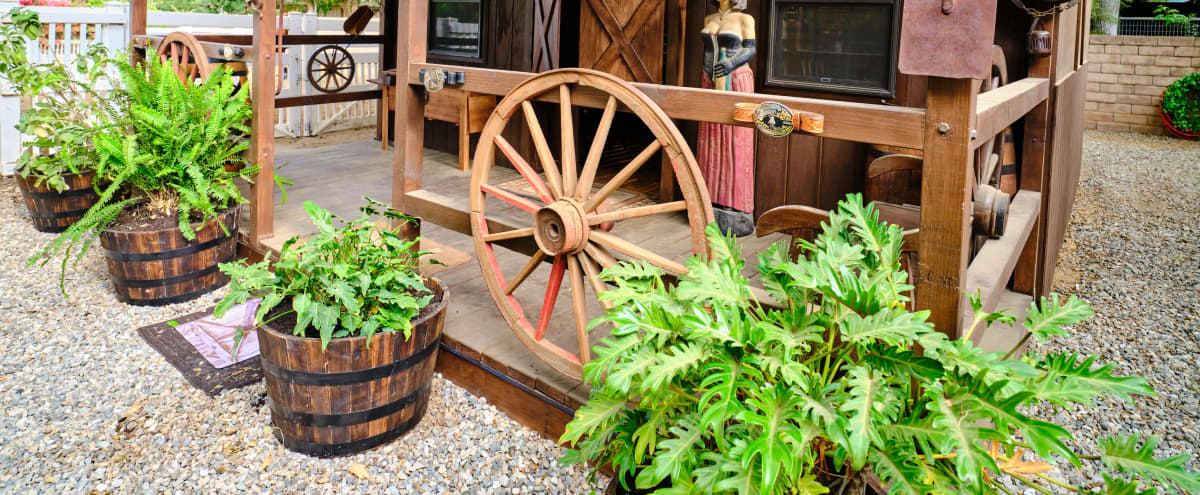 Cowboy Saloon with Photo Studio.  Includes Barn, horses, arena, pool area and lots more in Chatsworth Hero Image in Chatsworth, Chatsworth, CA