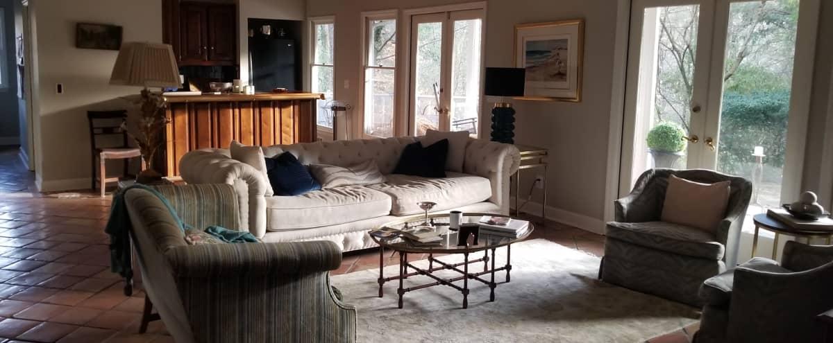 Mid-Century Home Perfect for Production Shoots in Atlanta Hero Image in Buckhead, Atlanta, GA