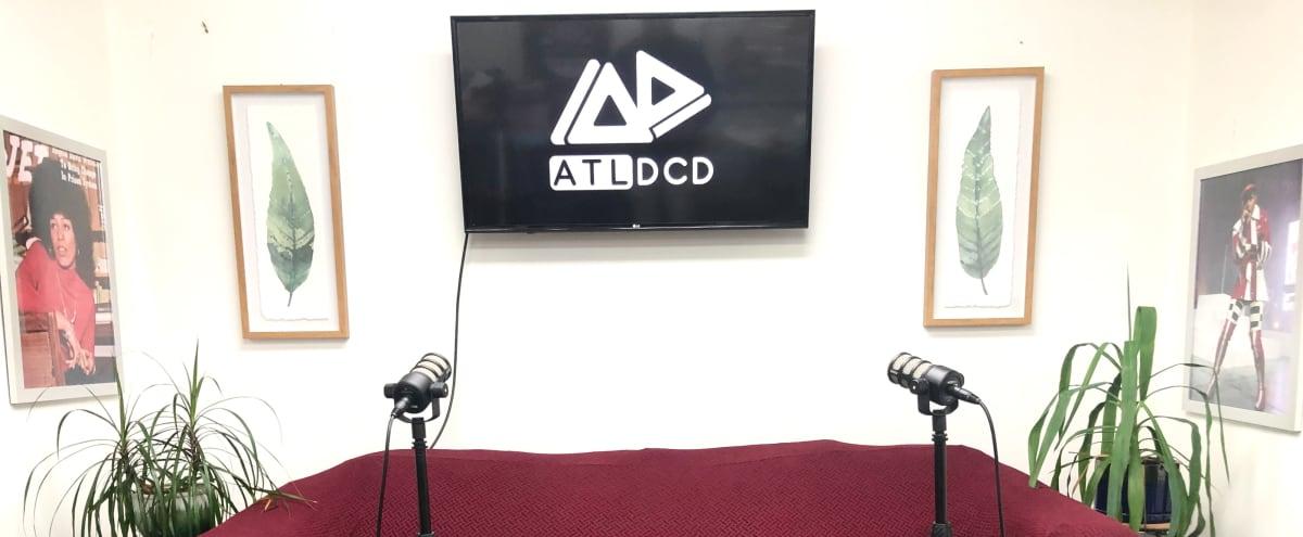 Podcast & Video Recording Studio (Equipment Included) in Atlanta Hero Image in Jefferson Park, Atlanta, GA