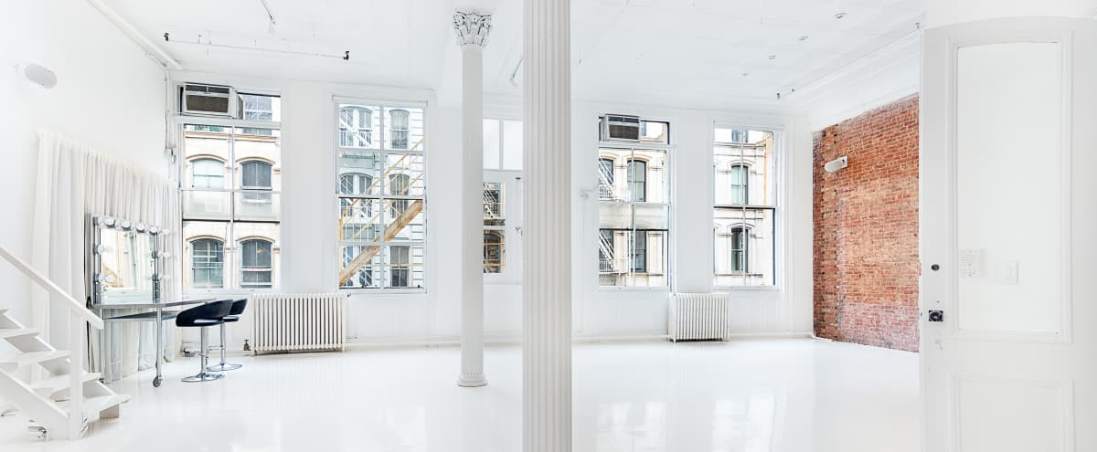 Light-filled SoHo Loft with Classic Detail and Modern Amenities in New York Hero Image in Lower Manhattan, New York, NY