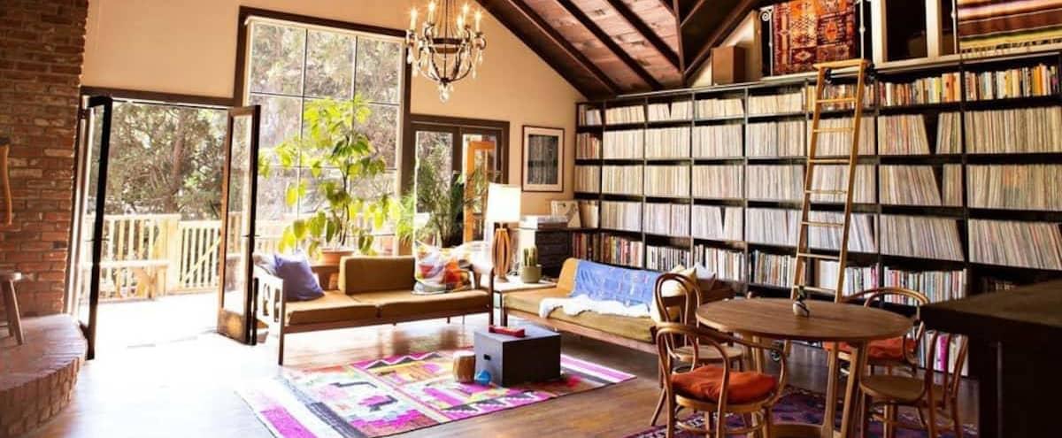 Musician's Rustic Laurel Canyon Cabin in Los Angeles Hero Image in Central LA, Los Angeles, CA