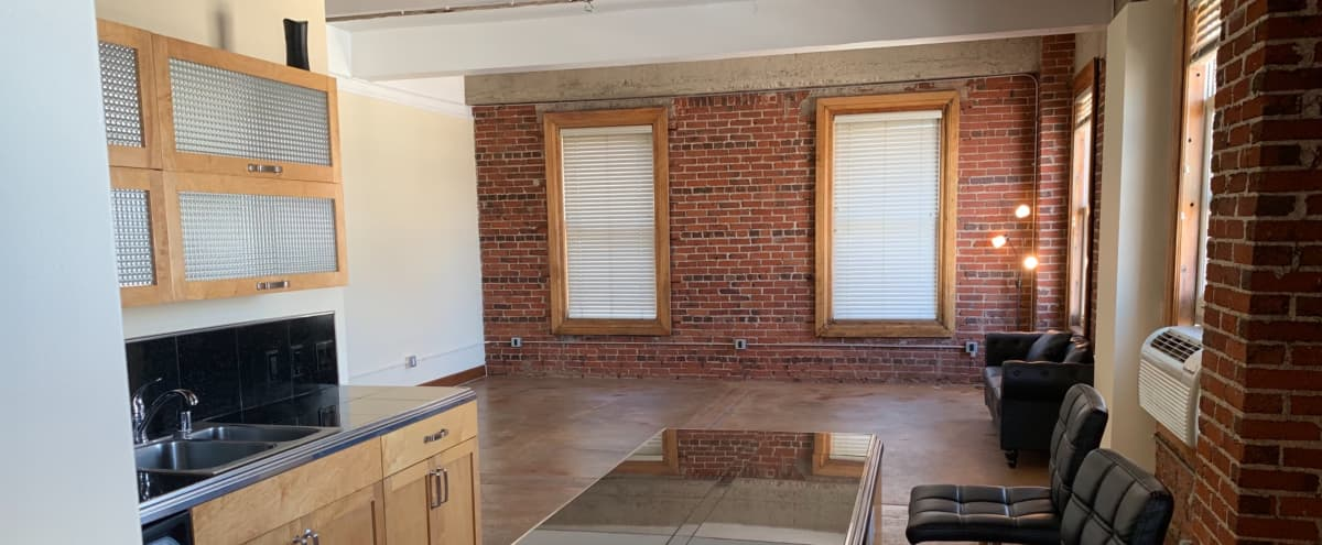 1200sq ft. Exposed Brick New York Styled Loft in Los Angeles Hero Image in Central LA, Los Angeles, CA