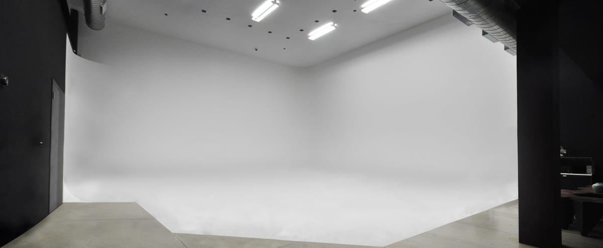 Westside Photo Video Film White Cyc Studio, Large, Private, Upscale. in Culver City Hero Image in Park West, Culver City, CA