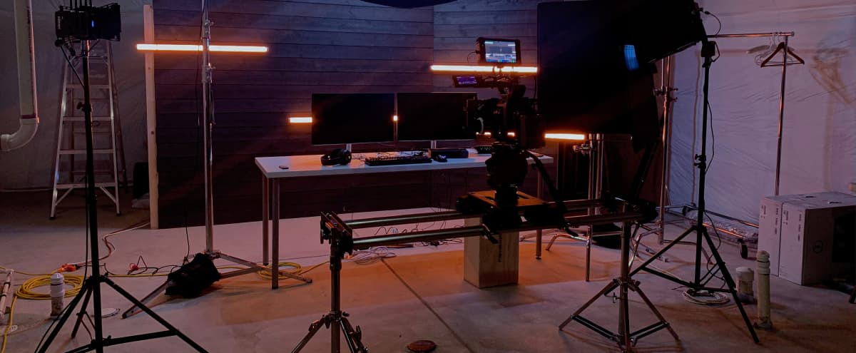Photo / Video Product Studio with Custom Built Set Wall in Erie Hero Image in undefined, Erie, CO