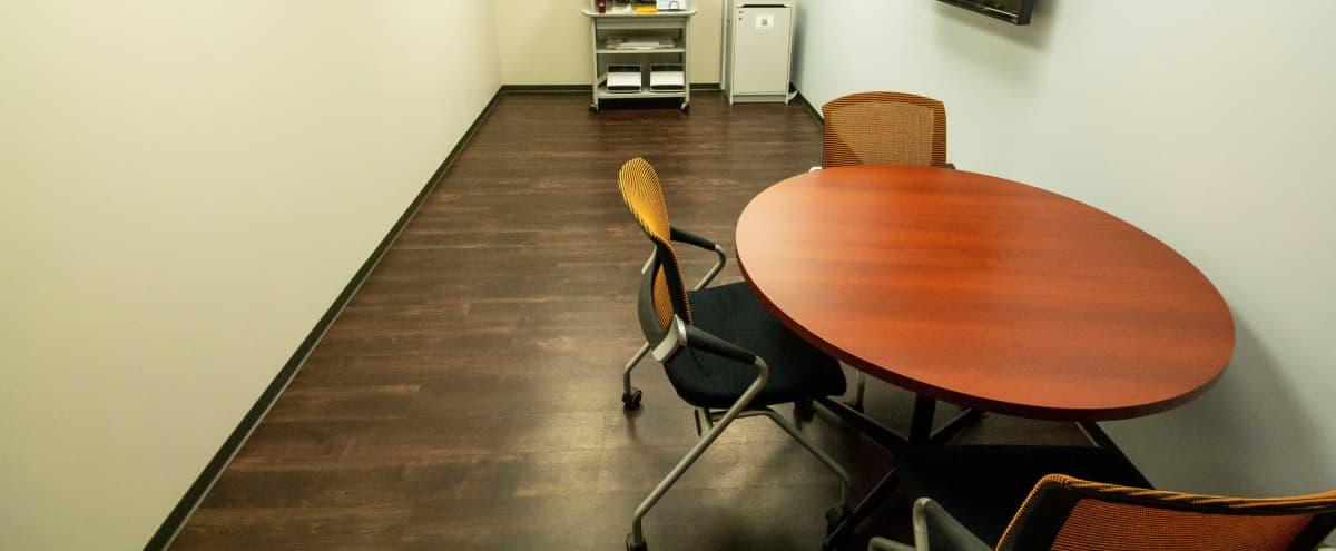 Empty Workspace with Tables & Chairs   Energy Corridor in Houston Hero Image in George Bush Park/Eldridge, Houston, TX