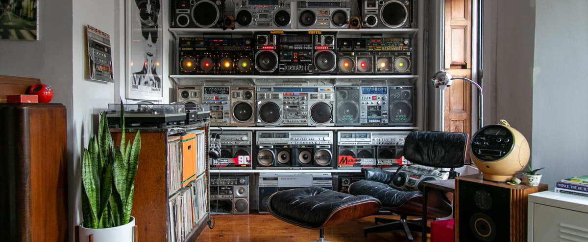 The Boom Room (AKA The Wall of Sound) in Brooklyn Hero Image in Park Slope, Brooklyn, NY