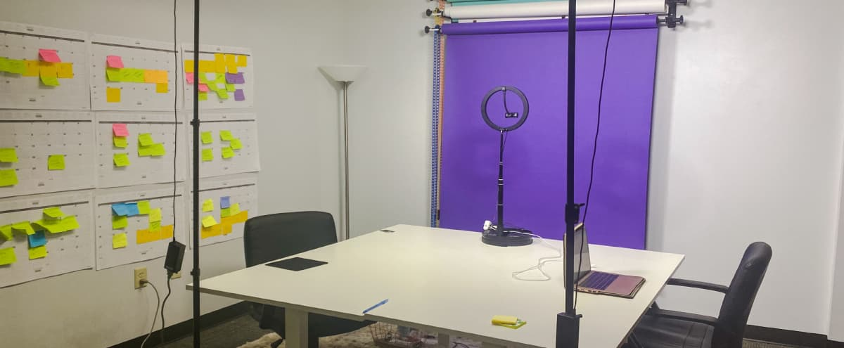 Professional Video, Zoom and YouTube Recording Space in Austin Hero Image in North Crossing, Austin, TX