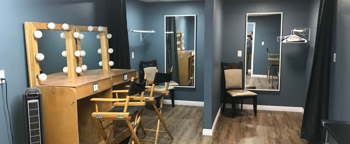 Wardrobe and Makeup Room in production studio in Burbank Hero Image in undefined, Burbank, CA