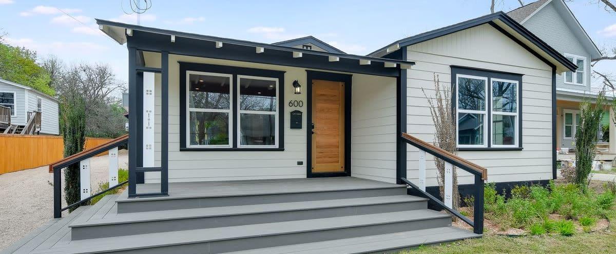Two Craftsman Homes & Workshop in Austin Hero Image in Hyde Park, Austin, TX