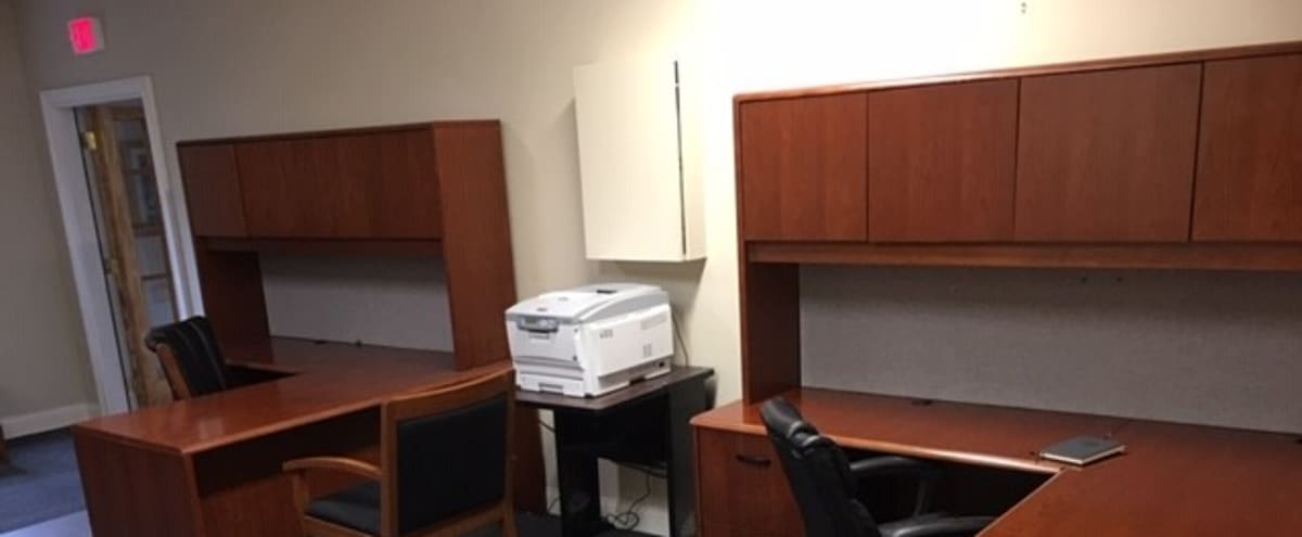 Double Desk Work Space, Meet up, Networking, Projects in Wilton Hero Image in undefined, Wilton, CT