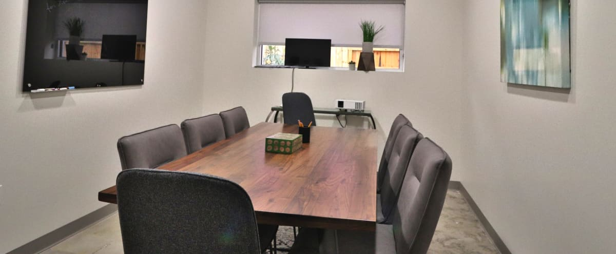 Private Conference Room for 8 - Houston Heights in Houston Hero Image in Greater Heights, Houston, TX