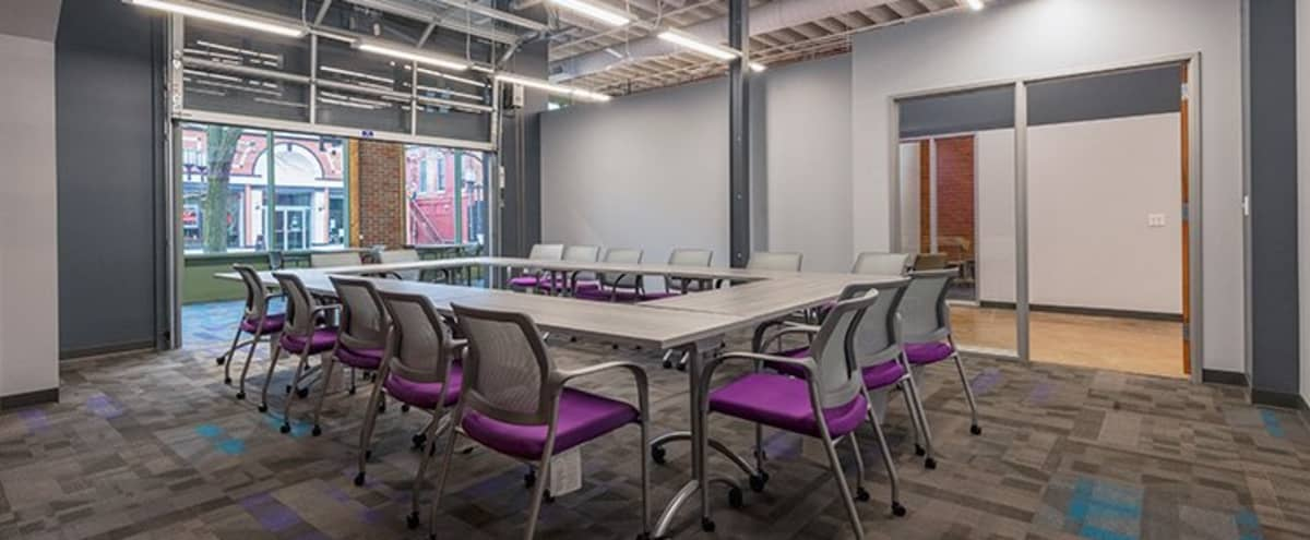 Spacious - Creative Meeting Environment for 20 People in Ypsilanti Hero Image in undefined, Ypsilanti, MI