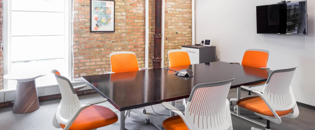 West Loop Conference Room in Chicago Hero Image in West Town, Chicago, IL