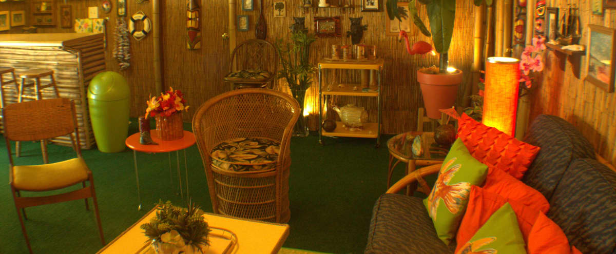 Atlanta's Premiere Mid Century Home Tiki Bar Studio in Stone  Mountain Hero Image in undefined, Stone  Mountain, GA
