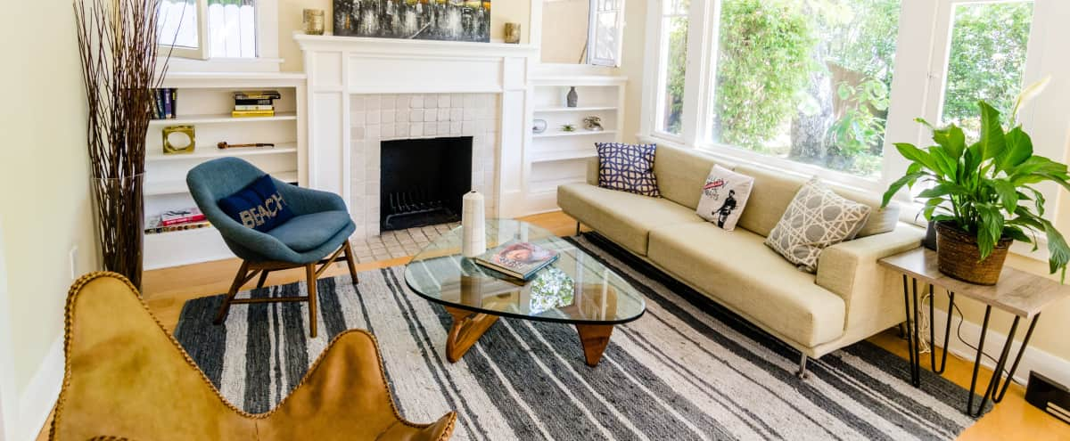 Chic Cottage with Great Lighting w/ Hot Tub & Pool in los angeles Hero Image in Central LA, los angeles, CA