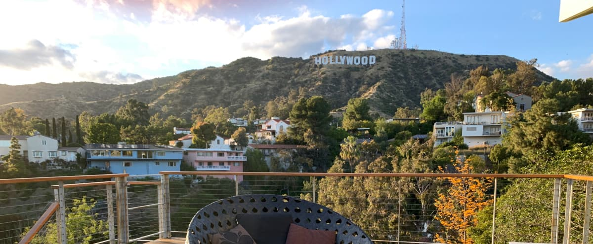 Best Hollywood Sign Views On Earth in Los Angeles Hero Image in Hollywoodland, Los Angeles, CA