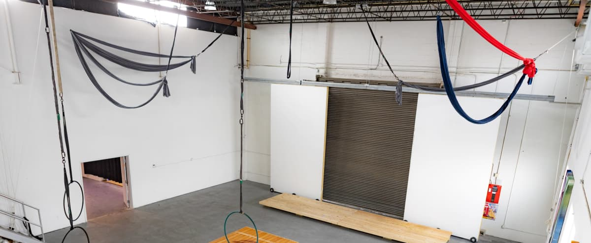 Spacious and Eclectic Production Studio with Various Room for Sets and Large or Small Productions in Saint Petersburg Hero Image in Grand Central District, Saint Petersburg, FL