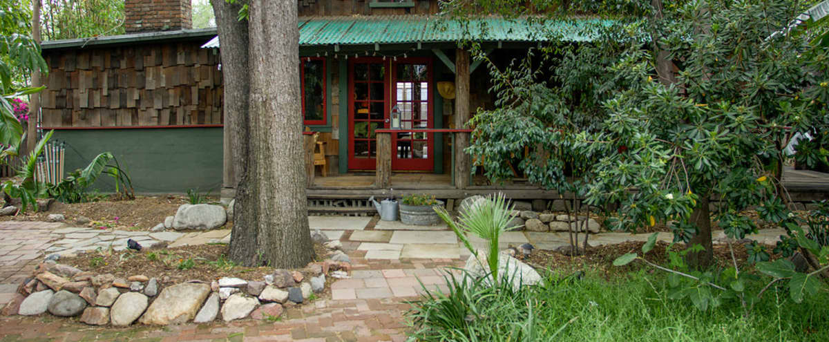 Frogtown Magical Cabin - Seclusion just 10 mins from DTLA in Los Angeles Hero Image in Elysian Valley, Los Angeles, CA