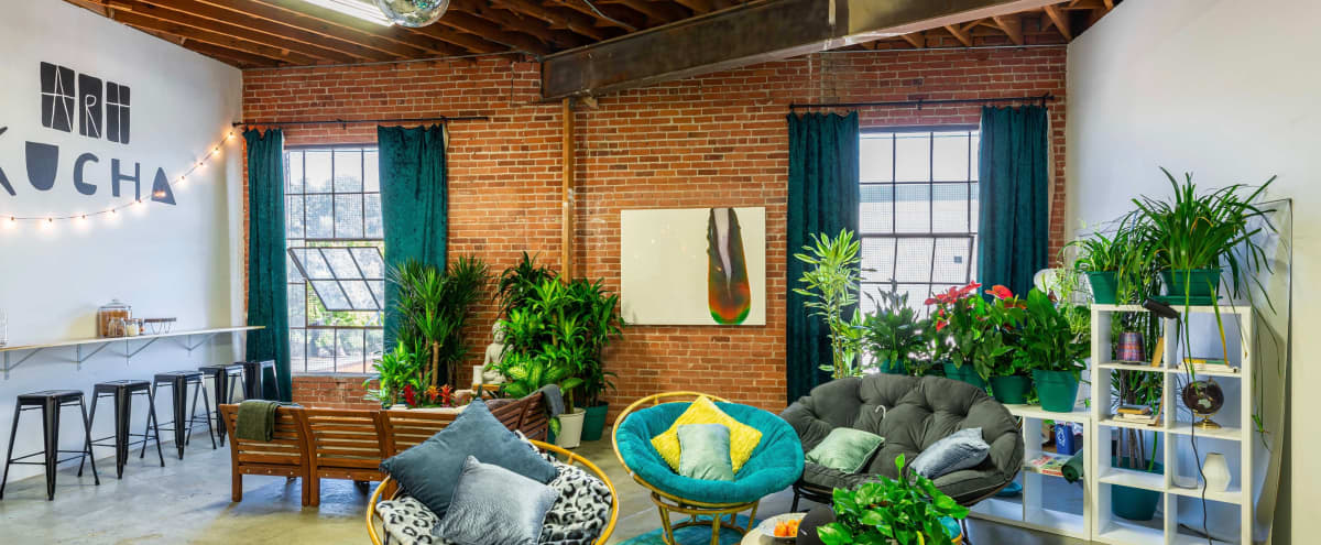 """Cozy multipurpose open space with 4K/200"""" PROJECTOR in Los Angeles Hero Image in Historic South Central, Los Angeles, CA"""