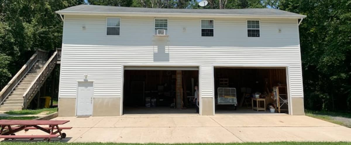 Roomy Garage Workshop,  close to DC and Baltimore in Severn Hero Image in undefined, Severn, MD