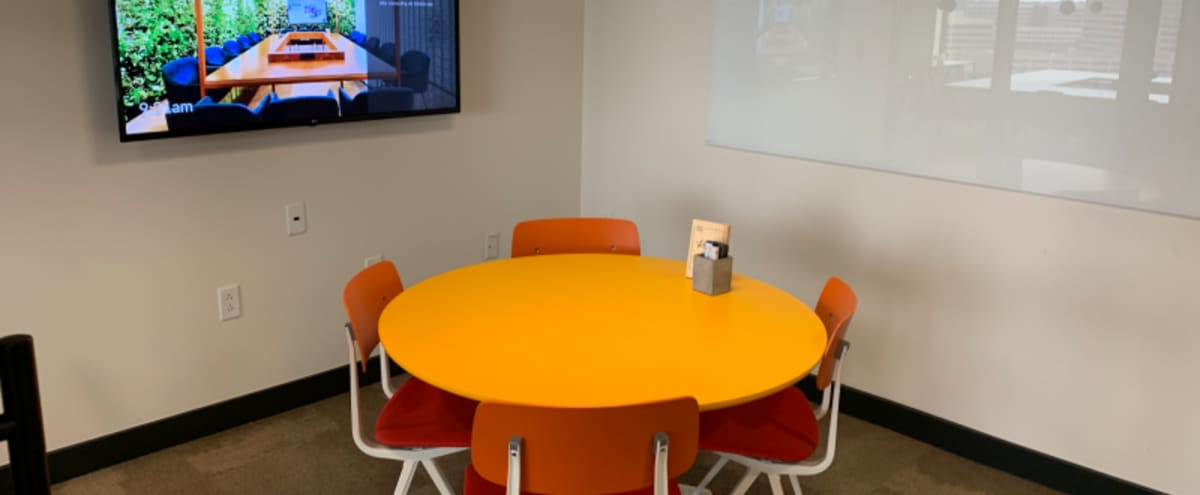 Modern Conference Room for 4 near DFW in Irving Hero Image in Las Colinas, Irving, TX