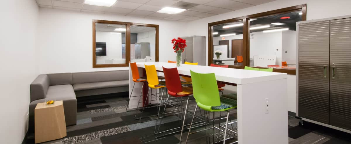 Conference Room in Technology-Centric Workspace Near Midway Airport in Chicago Hero Image in West Elsdon, Chicago, IL
