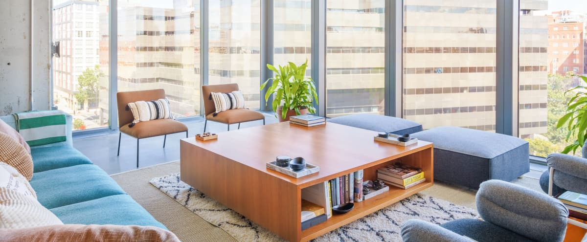 Thoughtfully designed office suites for meetings at any scale in Washington Hero Image in Northwest Washington, Washington, DC