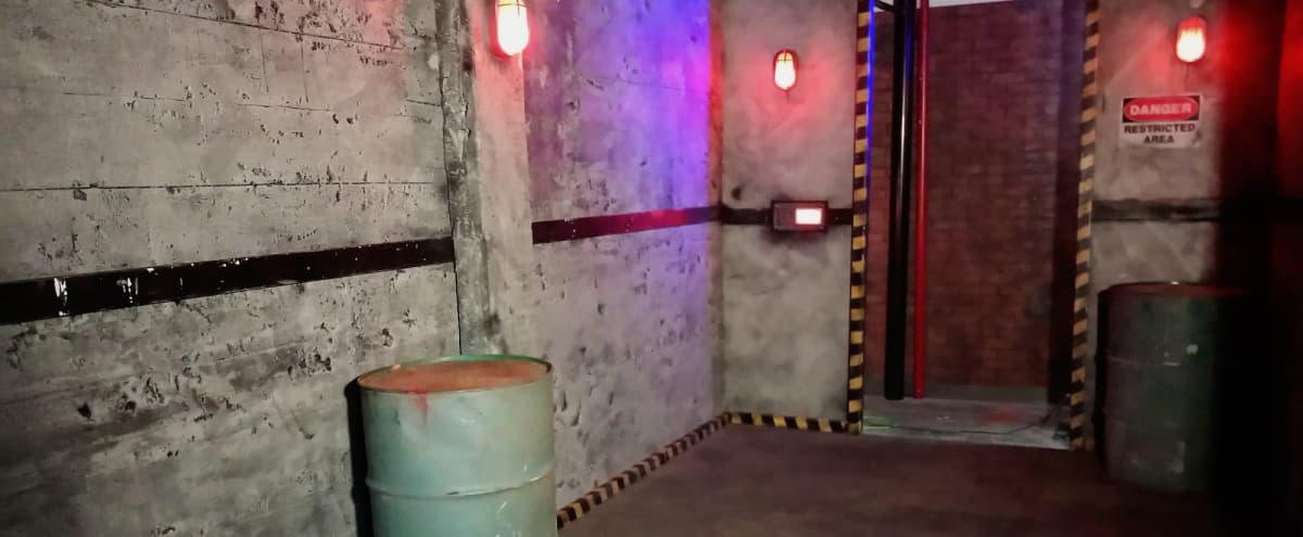Concrete Lair, Sci Fi,  Facility, Base, Brick, Urban, Prison Sets at Studio Space in Burbank Hero Image in undefined, Burbank, CA