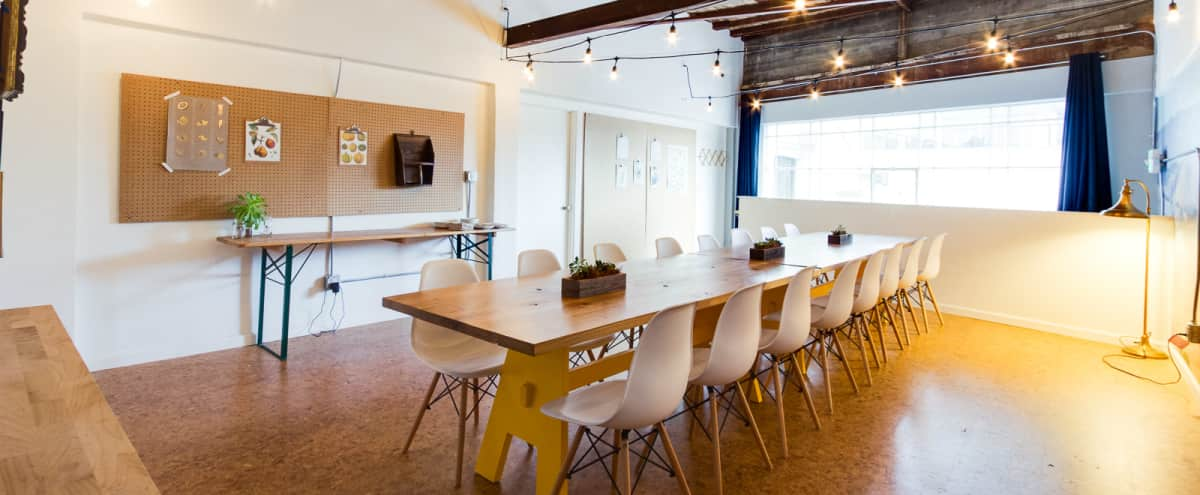 Bright, Contemporary, Beautifully-Designed Space Above Urban Restaurant in San Mateo in San Mateo Hero Image in Central San Mateo, San Mateo, CA