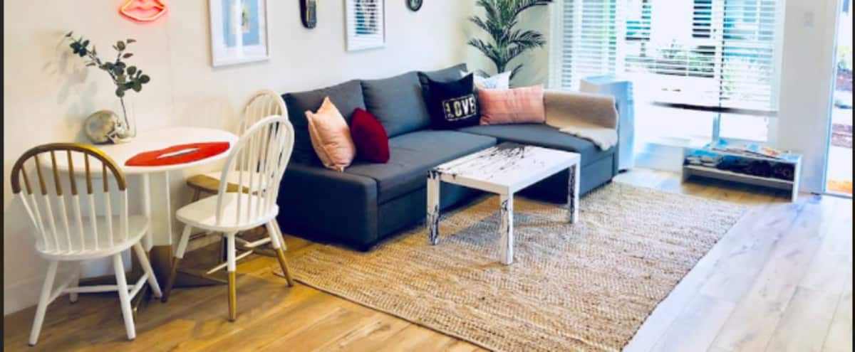 Hip 2 bedroom⭐ versatile❤️full of Light⭐ART❤️Upcycled furniture⭐SHOWROOM❤️shoots⭐meetings in El Segundo Hero Image in undefined, El Segundo, CA
