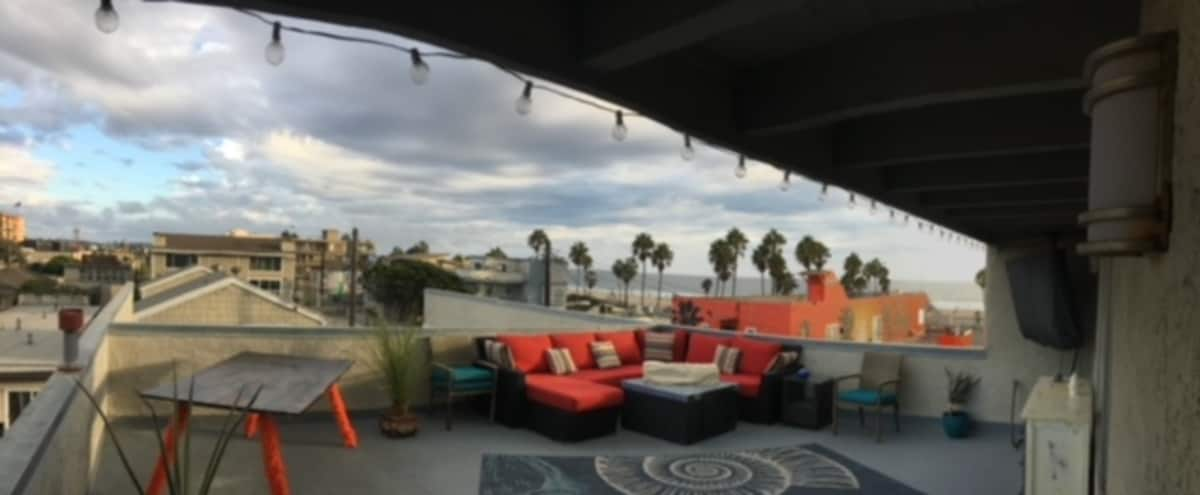 Private Beach Rooftop Three Bedroom Apartment on Venice Beach in Venice Hero Image in Venice, Venice, CA