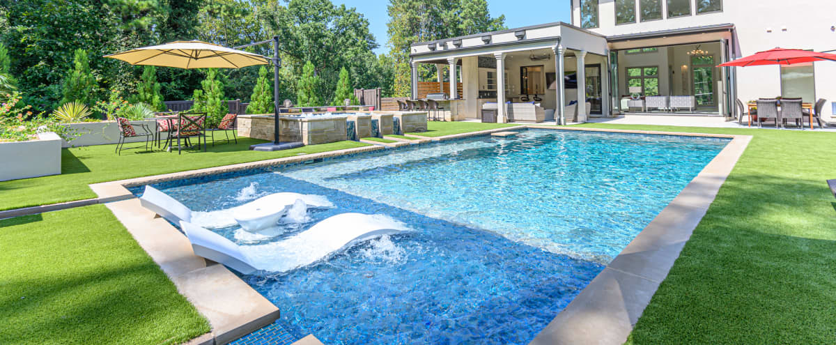 Private resort style modern home newly built in Brookhaven Hero Image in undefined, Brookhaven, GA