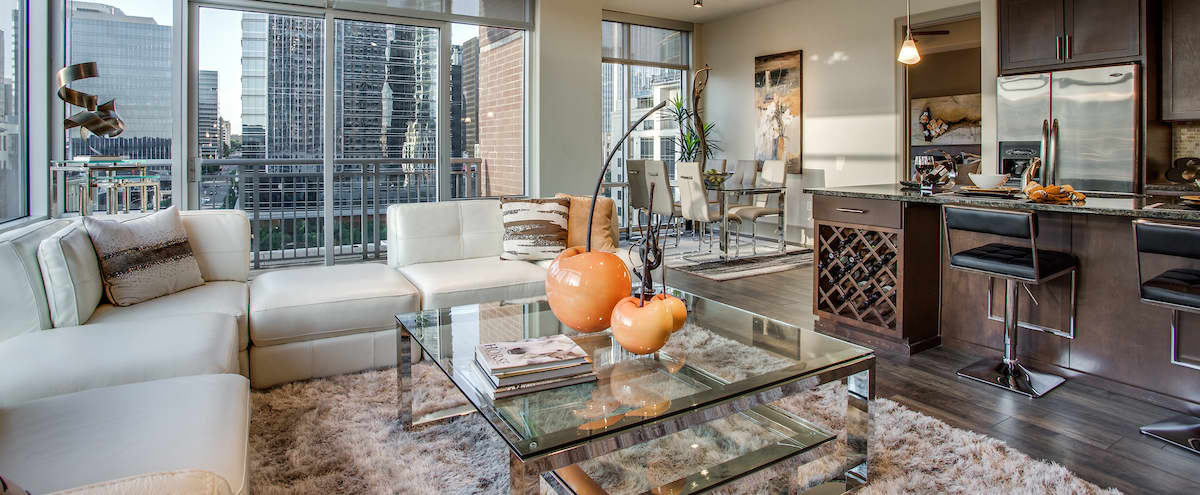Spacious Two Bedroom Model Apartment in Austin Hero Image in Downtown, Austin, TX
