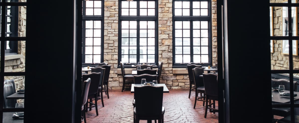 Beautiful restaurant space in Lincoln Park!  Striking decor and lighting will elevate your event. in Chicago Hero Image in Sheffield Neighbors, Chicago, IL