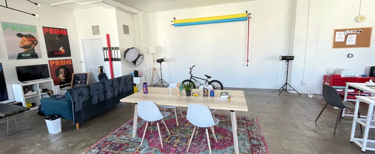 """""""Downtown Photo Studio Loft with Great Natural Light """" in Los Angeles Hero Image in Central LA, Los Angeles, CA"""