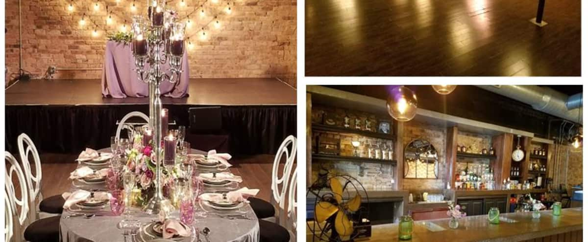 Sound, Video, Stage, Food & Bar! Perfect off-site venue in Chicago Hero Image in Lake View, Chicago, IL