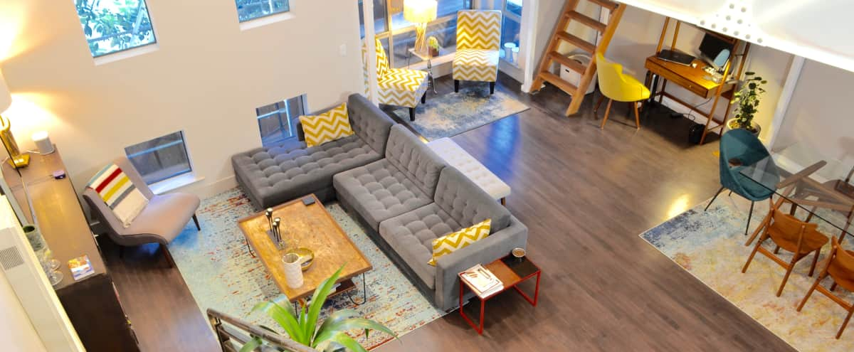 Bright SOMA loft. Ample natural light in San Francisco Hero Image in South of Market, San Francisco, CA