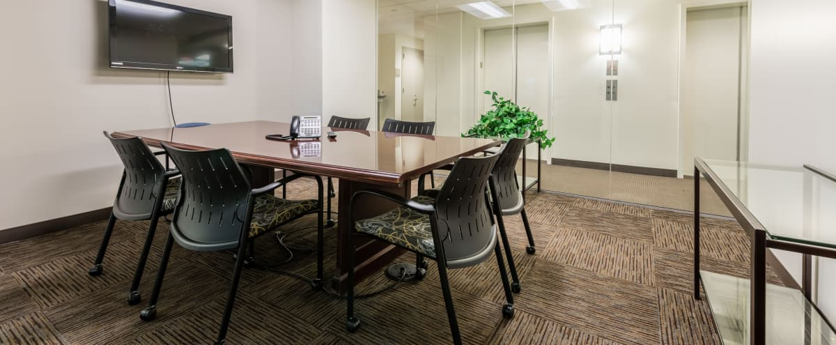 Clean, Well Lit Meeting Space (CR 8, Room 414) in Fairfax Hero Image in undefined, Fairfax, VA