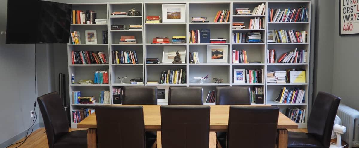 Spacious Flatiron Breakout Room in New York Hero Image in Midtown, New York, NY