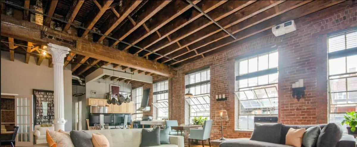 Spacious, Quiet New York Dream Loft in NEW YORK Hero Image in West Village, NEW YORK, NY