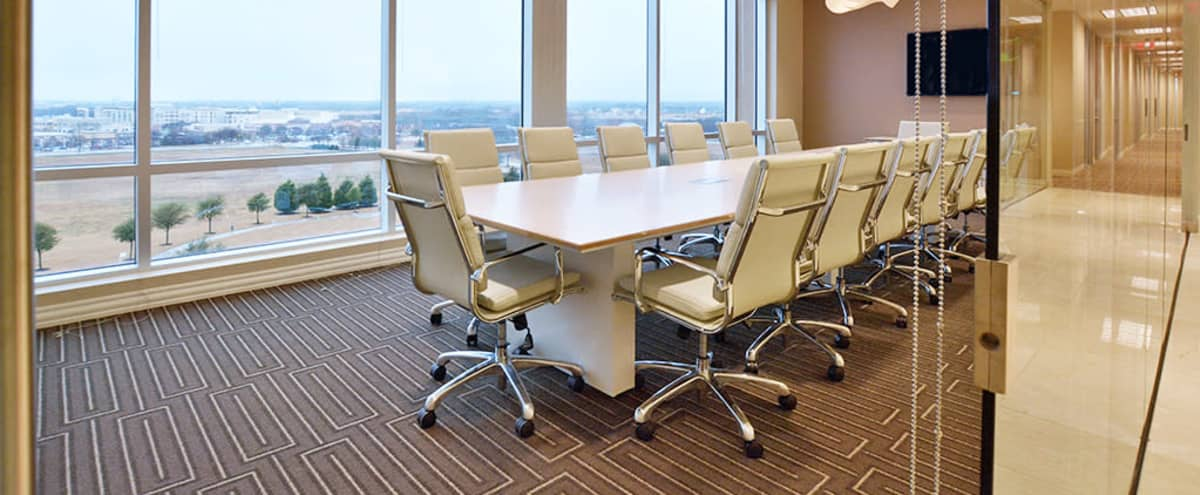 16 Person Conference Room with Views in Allen Hero Image in undefined, Allen, TX